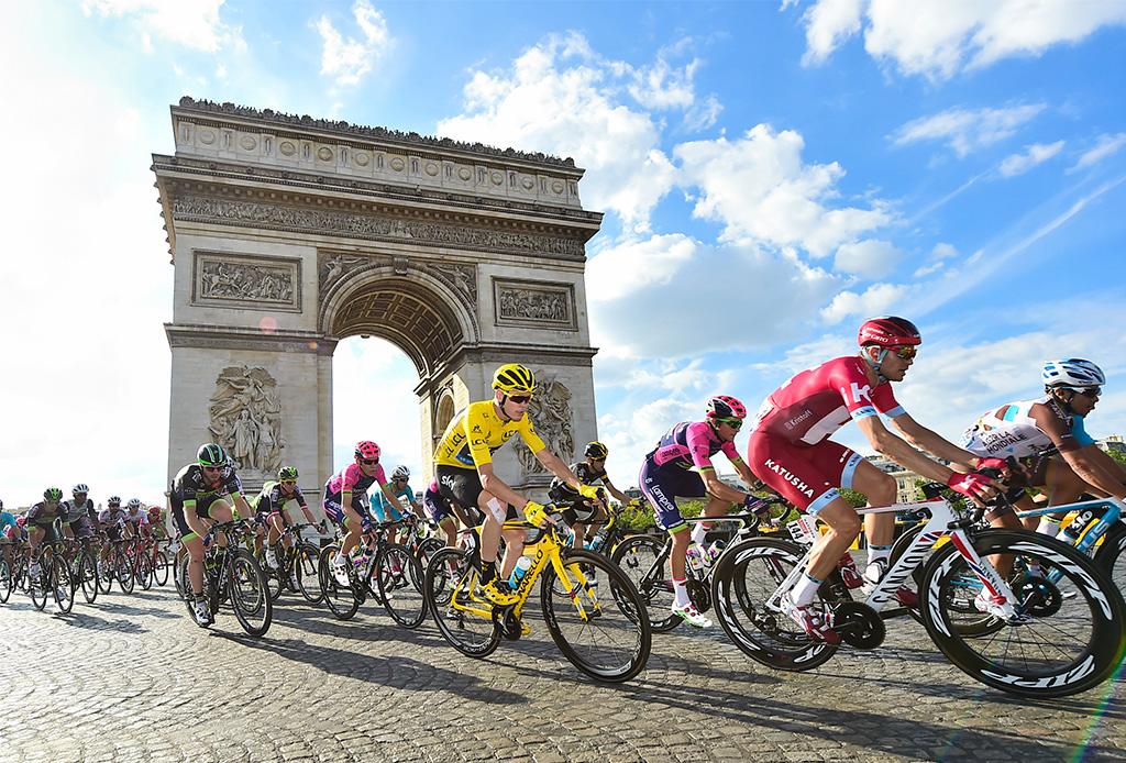 Estos ciclistas podrían competir contra un automóvil