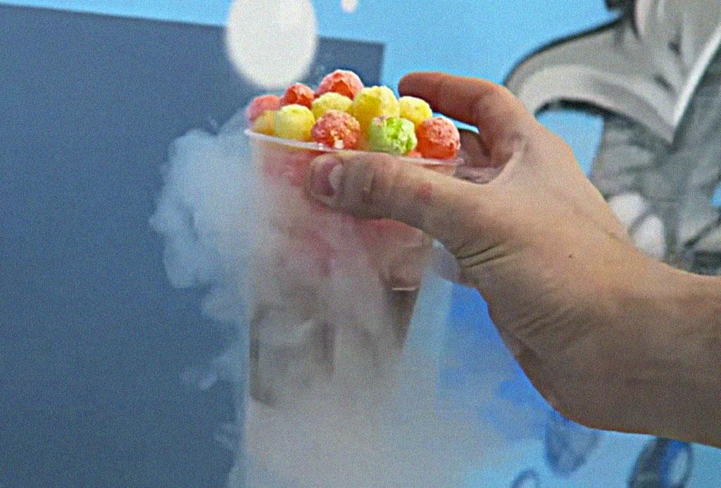 El cereal con nitrógeno que ha causado sensación en redes sociales - cereal-nitrogeno