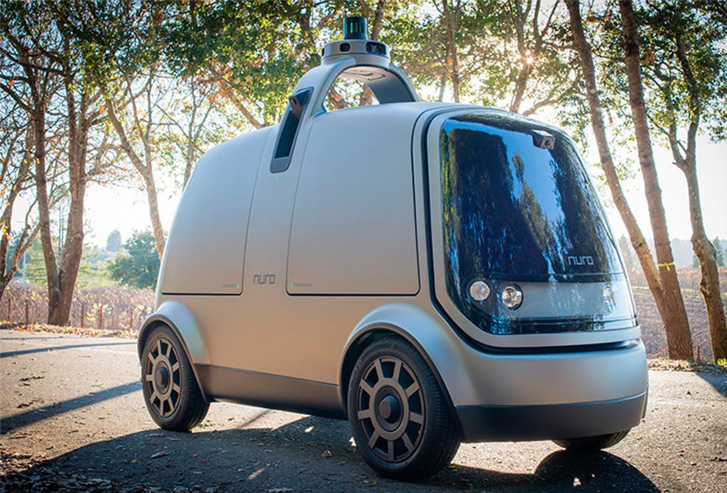 Muy pronto un coche autónomo podría llevar tus compras a casa