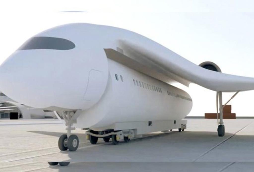 Este avión con alas removibles podría recogerte (casi) en la puerta de tu casa - avion1