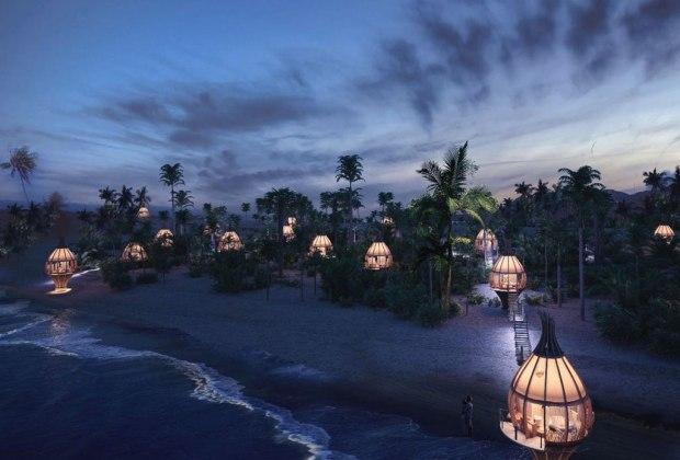 Conoce los capullos en los que vas a poder hospedarte en la Riviera Maya - awakening-hotel-capullo-riviera-maya-3