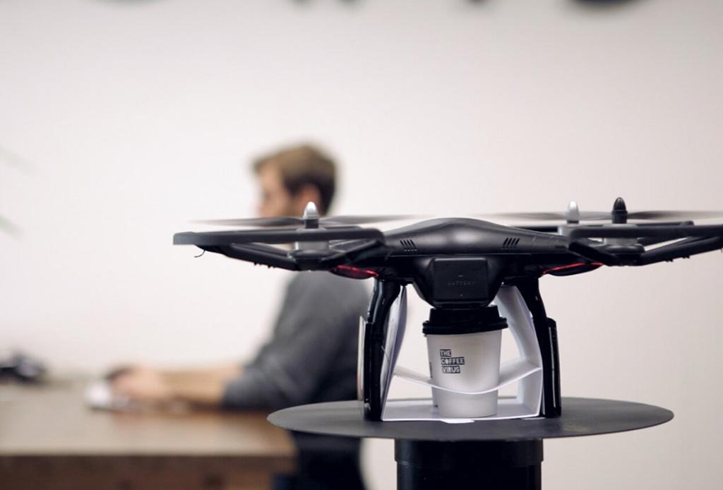 Este drone puede predecir cuando necesitas tomar un café - dronecafe1