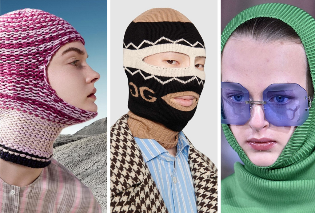 Estos diseñadores usaron los pasamontañas como protagonistas en sus desfiles