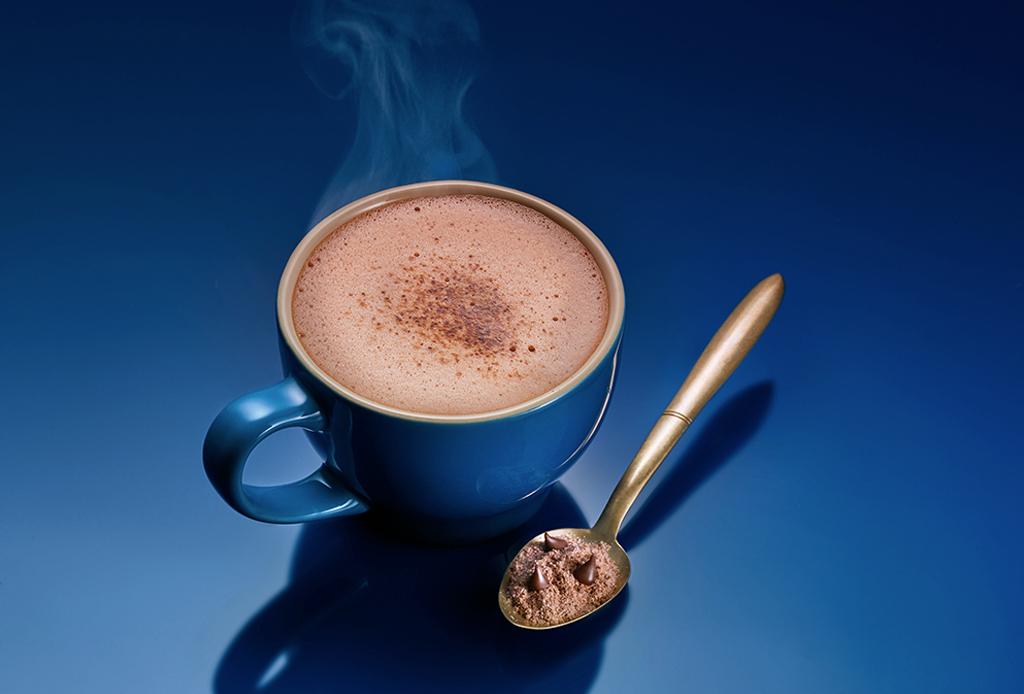 Prepara este delicioso chocolate caliente con Ghirardelli