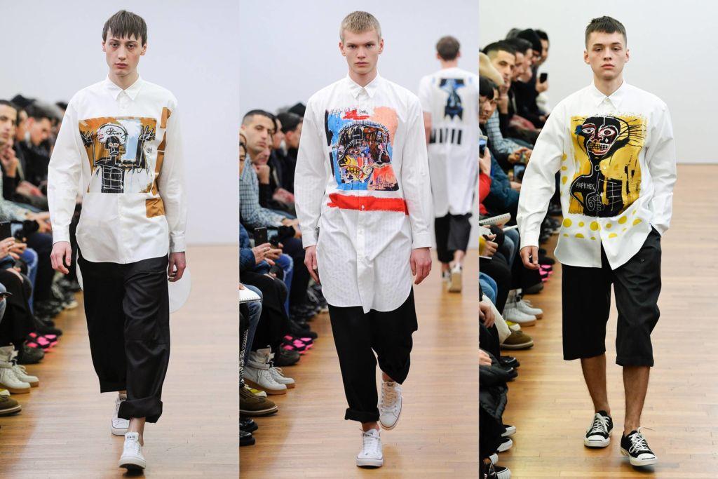 Comme des Garçons x Basquiat, ¡una colección de t-shirts que amarás!