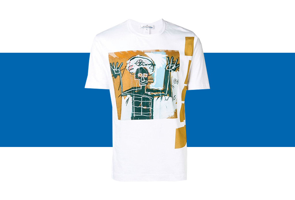 Comme des Garçons x Basquiat, ¡una colección de t-shirts que amarás! - basquiat-colaboracion-comme-des-garcons-3-1