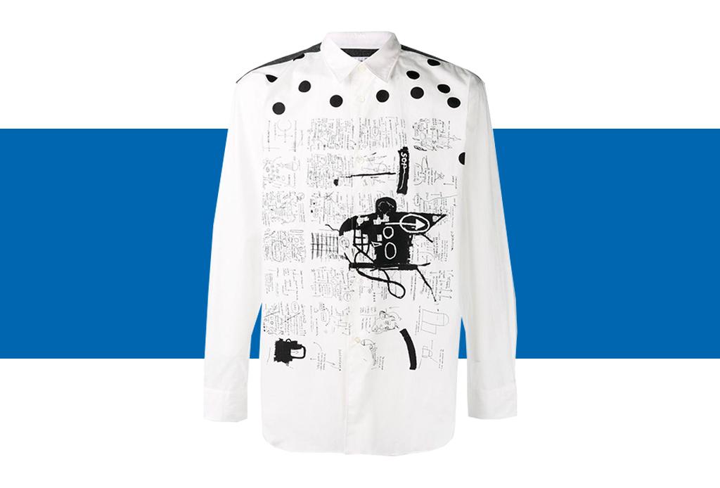 Comme des Garçons x Basquiat, ¡una colección de t-shirts que amarás! - basquiat-colaboracion-comme-des-garcons-6-1