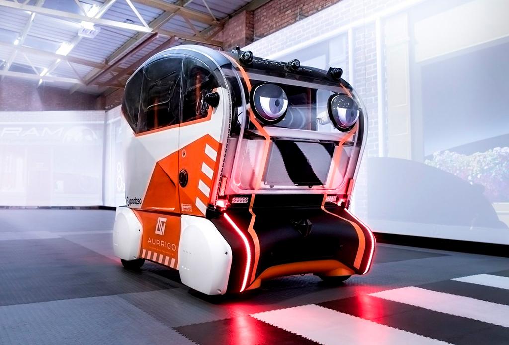 ¿Un coche que te puede ver? Este auto puede hacer contacto visual con los peatones - cochequeteve3