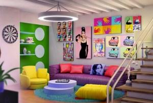 Inspírate con este board de Pinterest para redecorar tus espacios con pop art