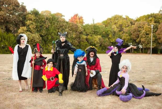 10 ideas de disfraces familiares para las fiestas de Halloween - disfraces6