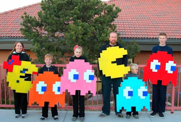 10 ideas de disfraces familiares para las fiestas de Halloween - disfraces7