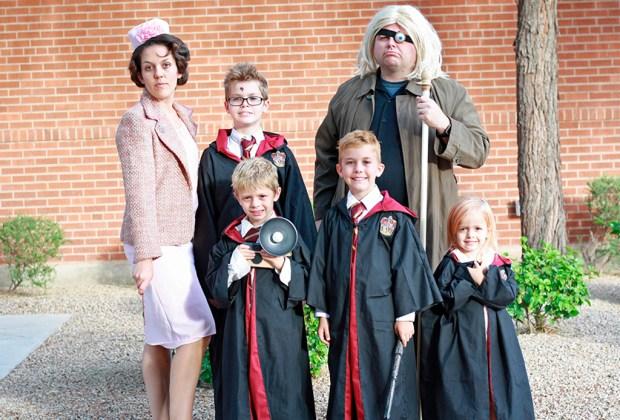 10 ideas de disfraces familiares para las fiestas de Halloween - disfraces9-1