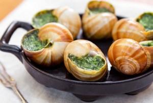 Dónde comer escargots (caracoles) en la CDMX
