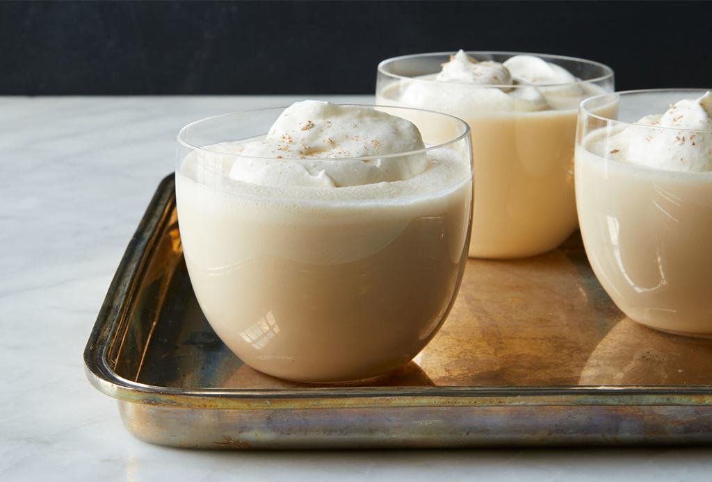 ¿Te gusta el Eggnog? ¡Disfrútalo en su versión vegana con esta receta!