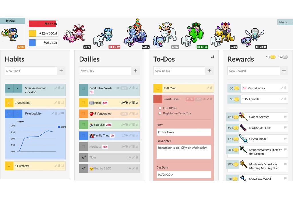 5 apps para cumplir todas tus tareas del día - habitica