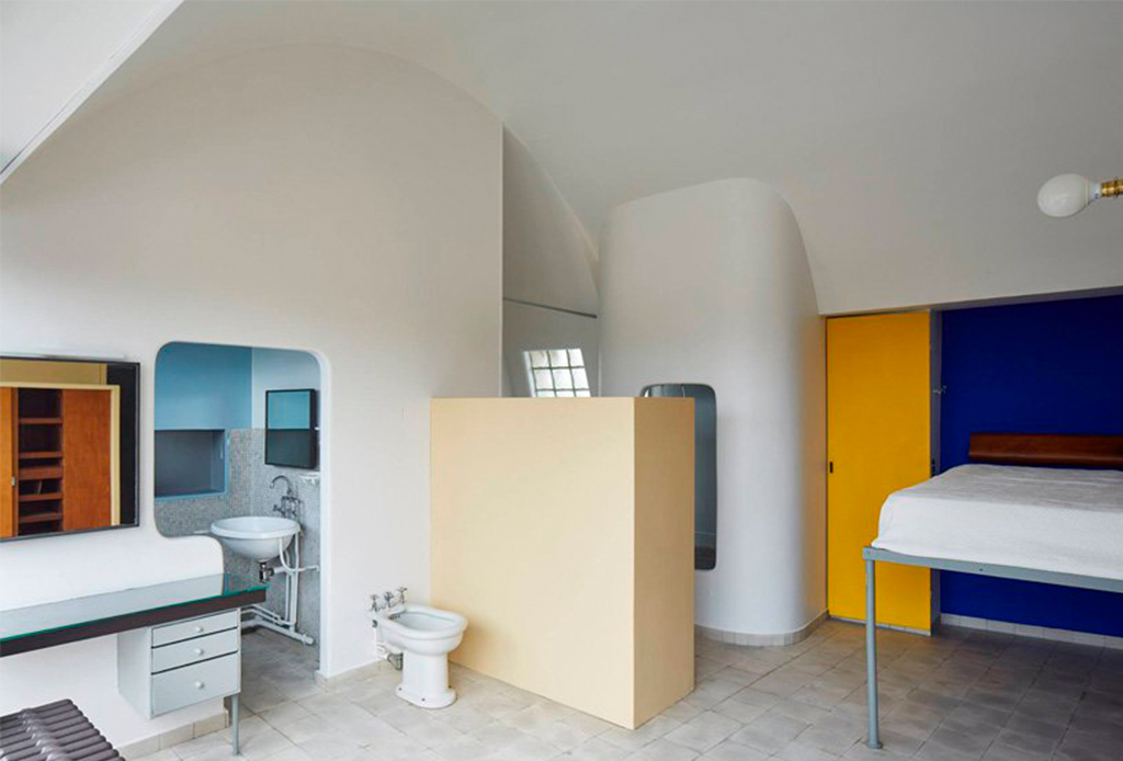 El departamento-estudio de Le Corbusier está re-abierto al público - le-corbusier-apartamento-2