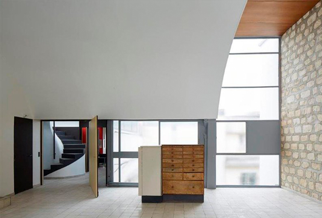 El departamento-estudio de Le Corbusier está re-abierto al público - le-corbusier-apartamento-3