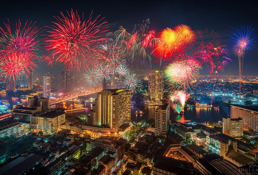 10 ciudades donde la celebración de año nuevo es incomparable - ancc83o-nuevo-bangkok