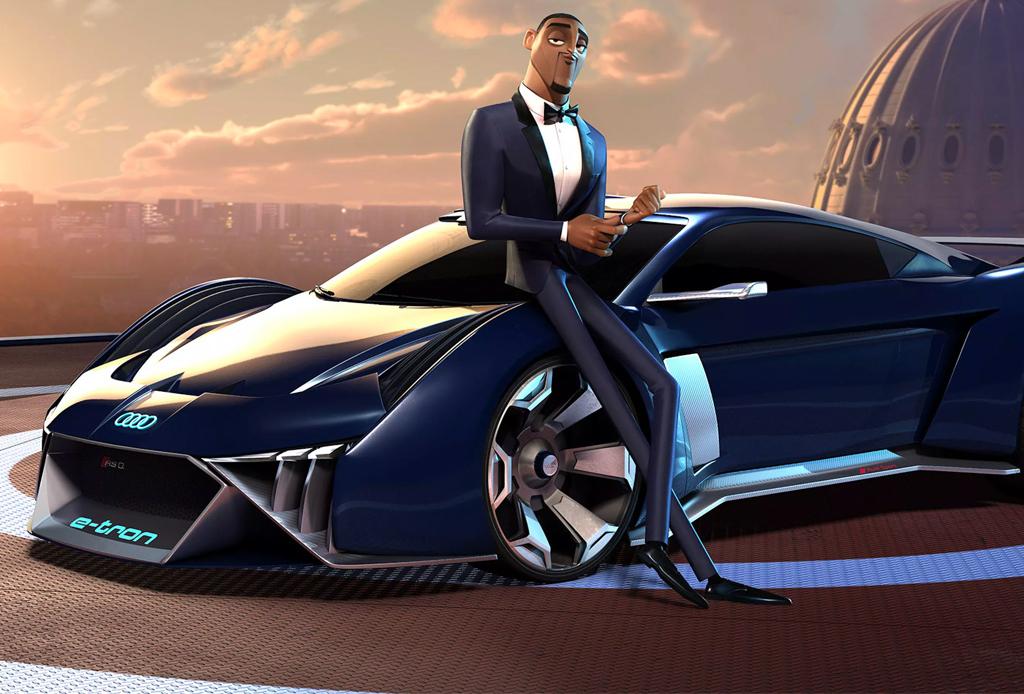 El primer concept car para una película animada es creación de Audi