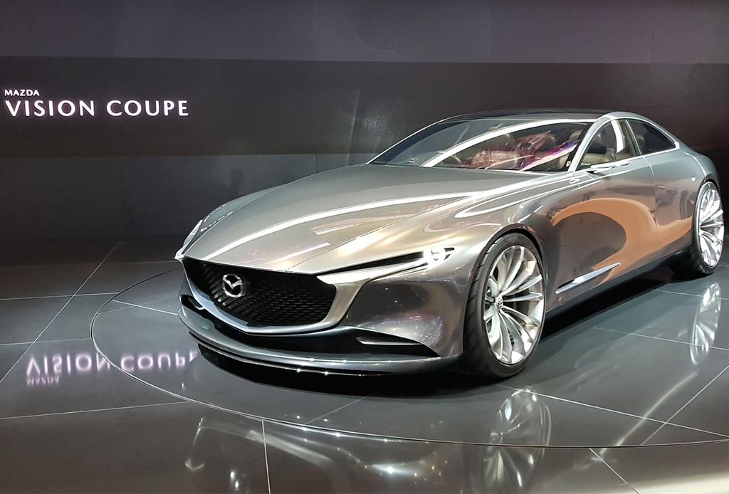 Mazda Vision Coupé: El coche conceptual más bello del año - mazda-vision-coupe-1