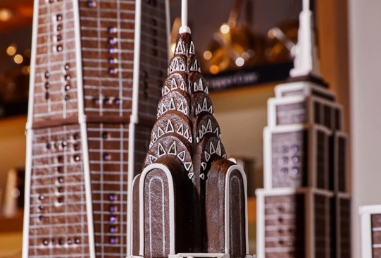 Hay una réplica de la ciudad de Nueva York ¡hecha con gingerbread! - nueva-york-ciudad-hecha-de-pan-de-jengibre-3-300x203