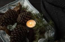 velas aromaticas navidad