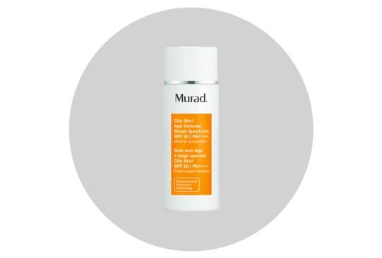 Cuida tu cara de la contaminación ambiental con estos productos - murad-city-skin-age-defense-broad-spectrum-spf-50-300x203