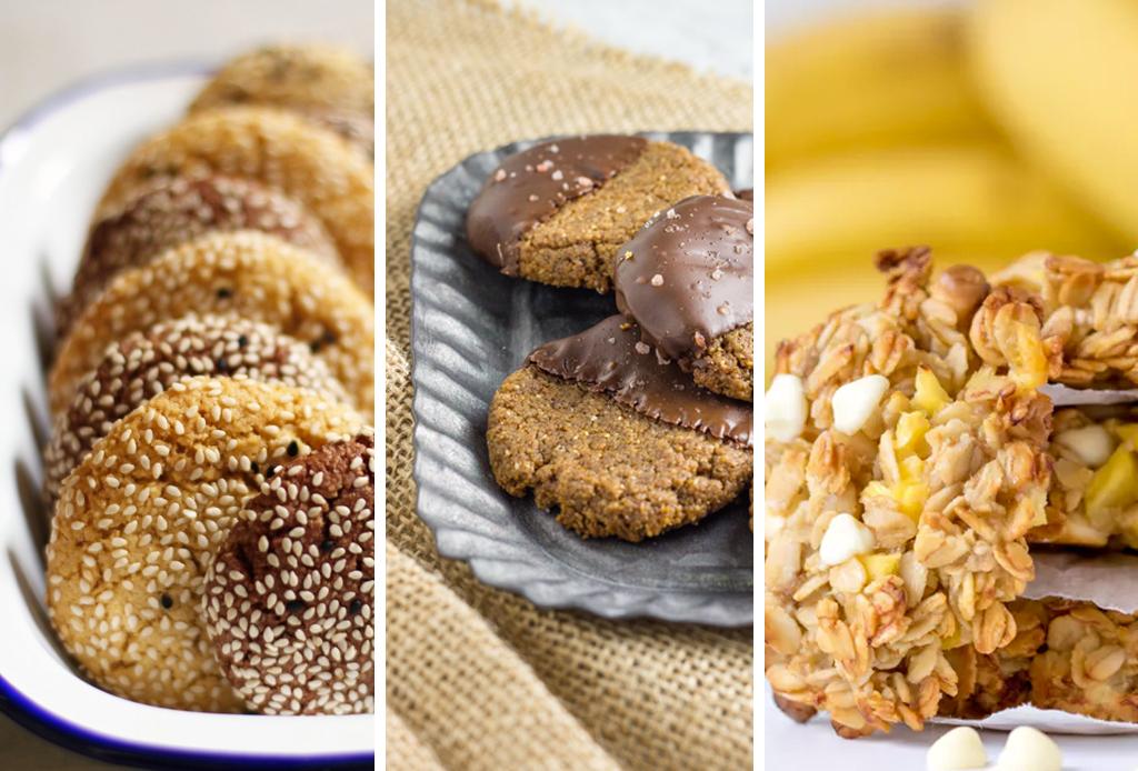 Te compartimos 3 recetas de galletas saludables pero deliciosas