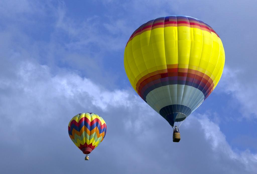 Lugares para volar en globo aerostático en México
