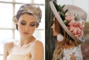 8 alternativas al velo para las novias menos tradicionales
