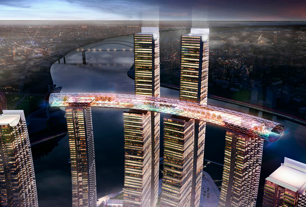 The Crystal, el primer rascacielos horizontal que TIENES que conocer