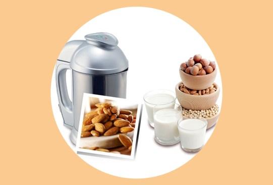 Esta máquina te ayudará a preparar leches vegetales rápidamente en casa - soyaelectric-leches-vegetales-1-300x203