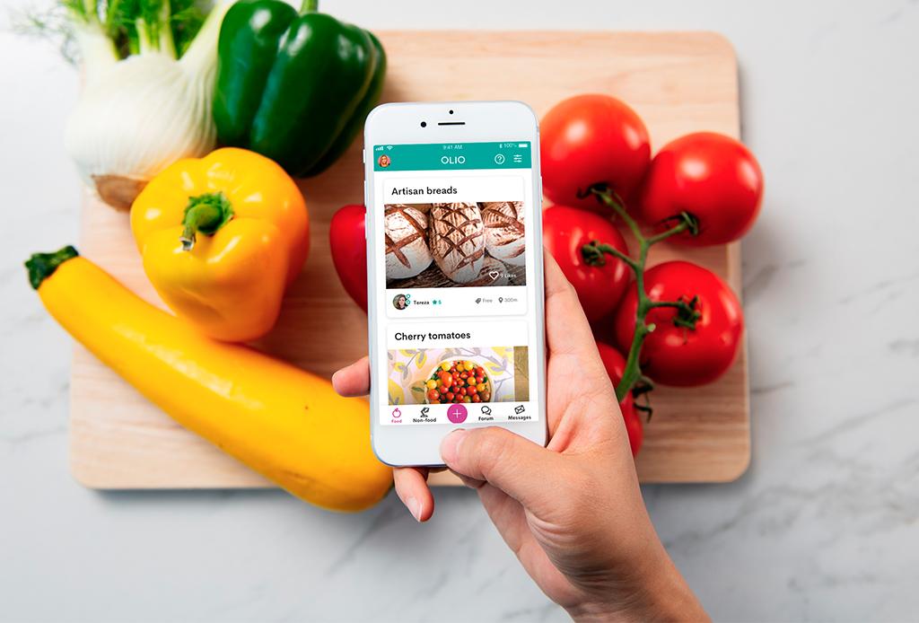 Existe una aplicación para compartir comida y disminuir el desperdicio