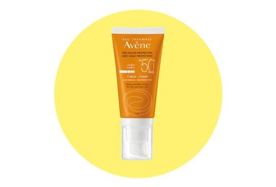 Los mejores protectores solares para la cara - protector-solar-facial-avene-300x203
