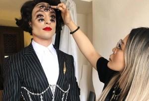 Conoce a la makeup artist detrás del look de Ezra Miller en la MET Gala 2019