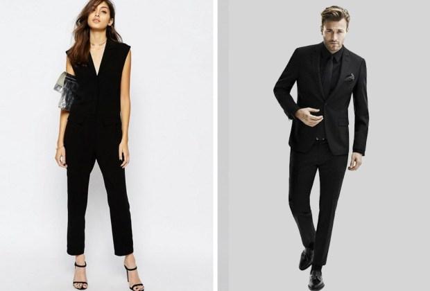 ¿Se vale ir vestido completamente de negro a una boda? - vestir-negro-bodas-2