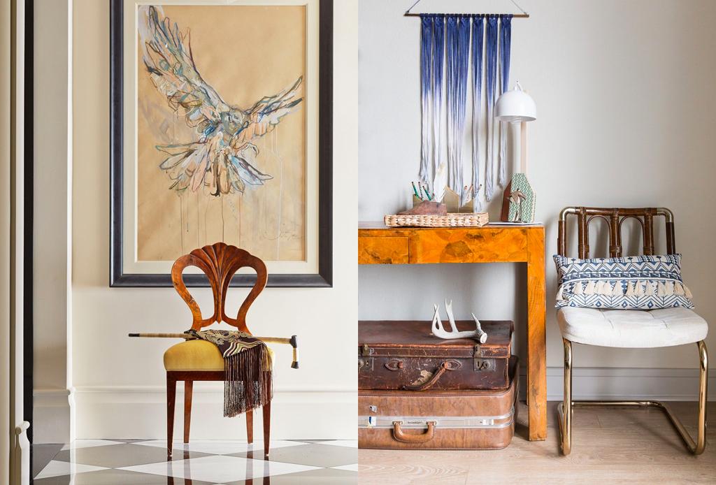 5 consejos para integrar piezas antiguas en la decoración de tus espacios - antiguedades-5-1024x694