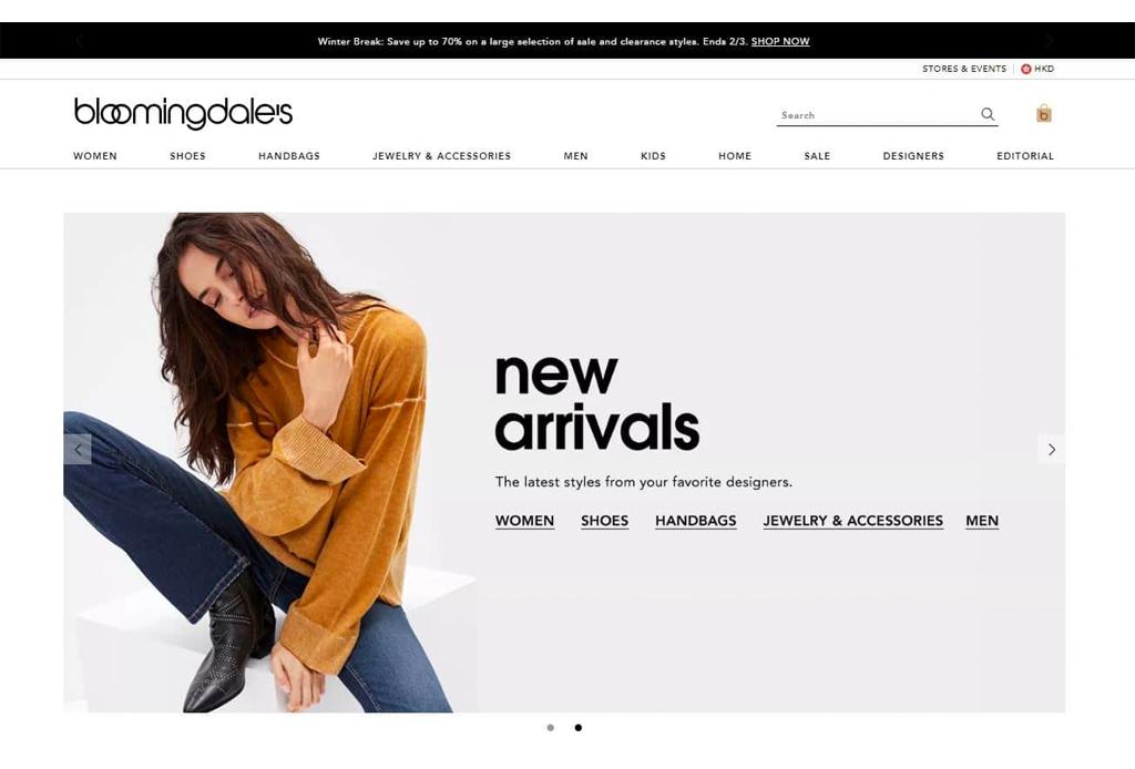 ¡Ya era hora! Bloomingdale's anuncia su tienda en línea en México - bloomingdales-3-1024x694
