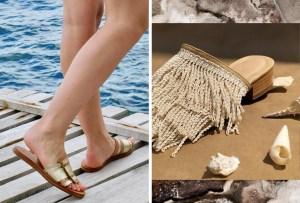 Los zapatos perfectos para tu próxima visita a la playa son de marcas mexicanas