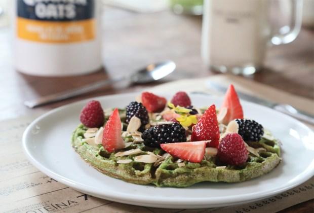 5 lugares para desayunar después de tu rutina de ejercicio - waffles-the-oatery-quaker-avena
