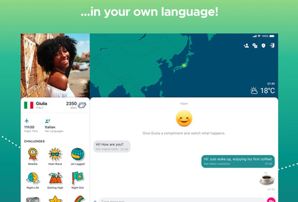 Esta aplicación traduce conversaciones en tiempo real con gente en cualquier parte del mundo - ablo-2-1024x694