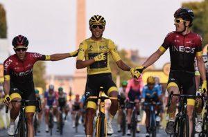 Él es Egan Bernal, el primer latinoamericano en ganar el Tour de France