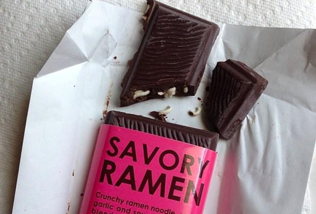 5 chocolates excéntricos que TIENES que probar ¡ya! - savory-ramen-chocolate