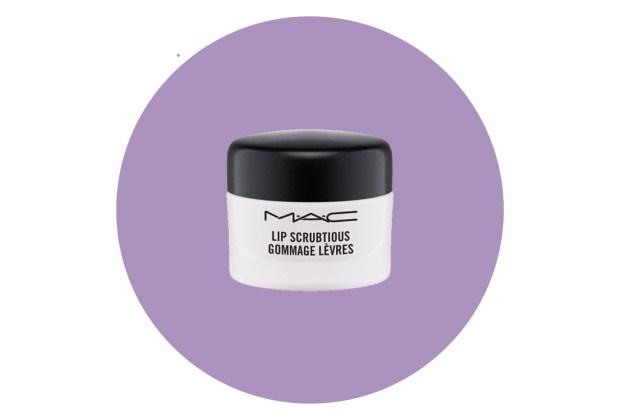 5 exfoliantes para labios que tienes que probar - lip-scrubtious-mac