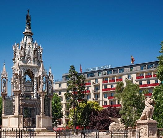 Le Richemond, el histórico y lujoso hotel en Ginebra que debes visitar - le-richemond