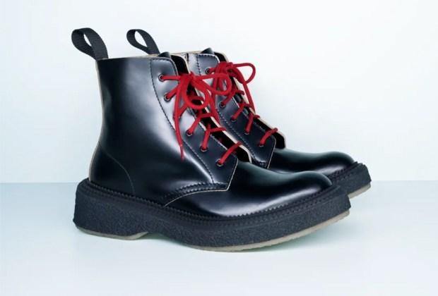 10 piezas de Giambattista Valli x H&M para lucir espectacular en tus fiestas de fin de año - botas-piel-hombre-hm-giambattista-valli