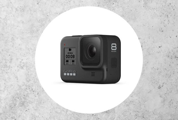 ¿Amante de la adrenalina? Estas cámaras son perfectas para la acción - gopro-hero8-black