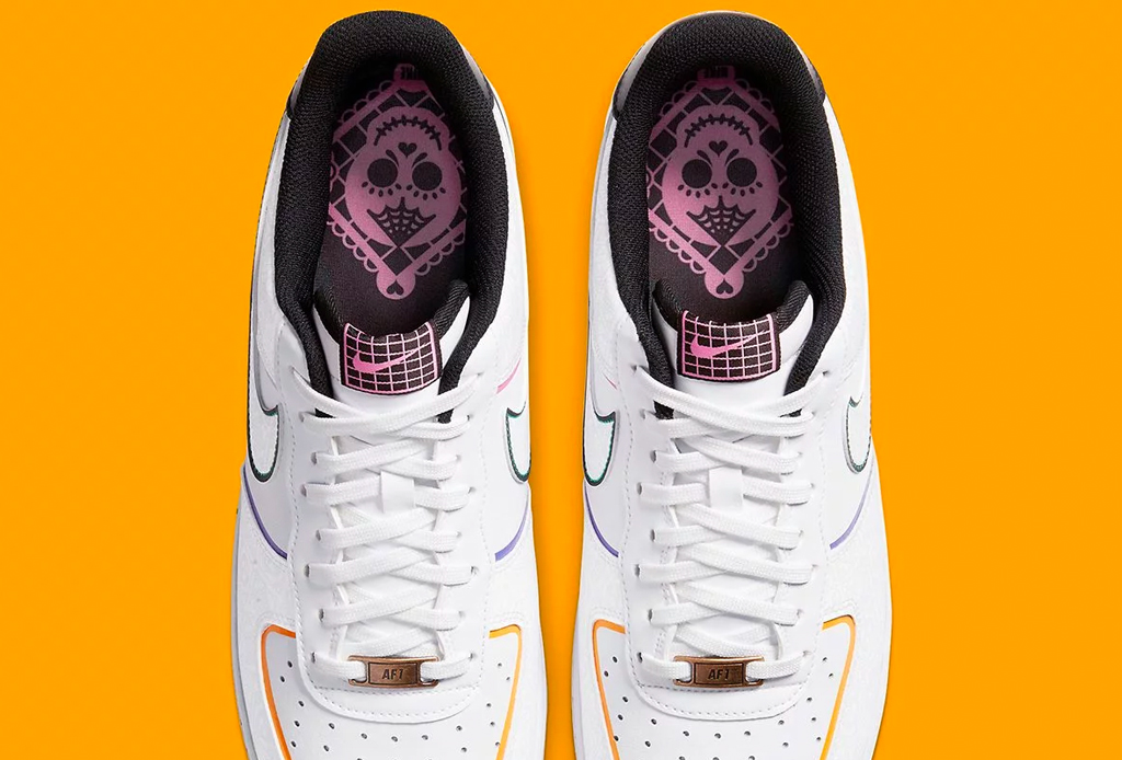 air force 1 dia de muertos