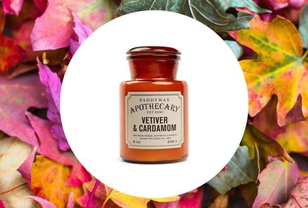 Las velas que no pueden faltar en casa para aromatizar este otoño - paddywax-vetiver-cardamom