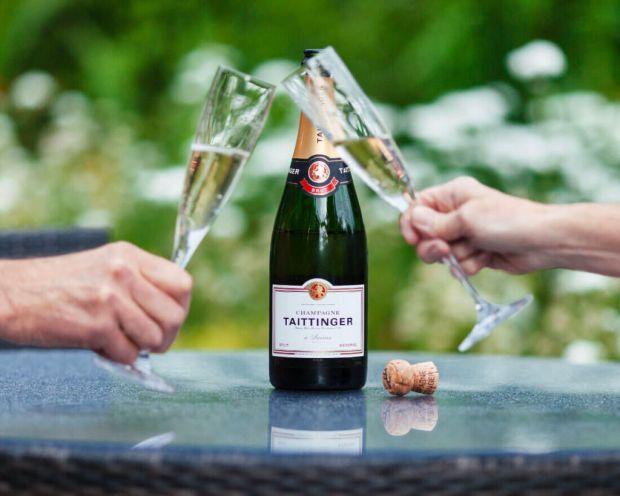 Champagne y espumosos perfectos para las mañanas - taittinger